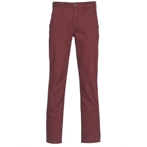 Pantalons Timberland SQUAM LAKE CHINO Bordeaux 350x350