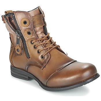 Chaussures Femme Boots Bunker SARA Marron