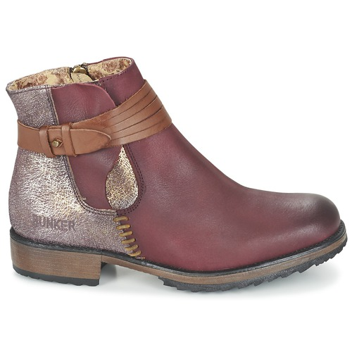 Bordeaux Taylor Femme Bunker Boots Chaussures yvm8OwNn0