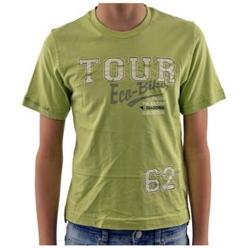 Vêtements Enfant T-shirts manches courtes Diadora T-shirt T-shirt vert