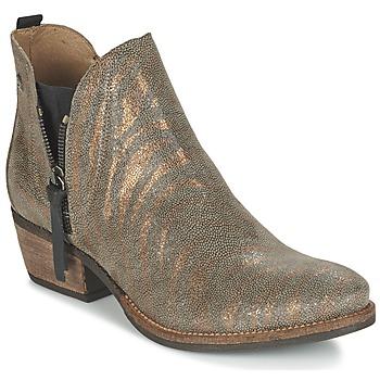 Chaussures Femme Boots Coqueterra LIZZY Doré