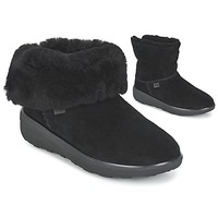 Chaussures Femme Boots FitFlop MUKLUK SHORTY 2 BOOTS Noir