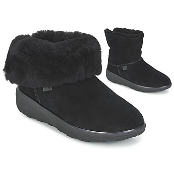 Bottines / Boots FitFlop SUPERCUSH MUKLOAFF SHORTY Noir 350x350