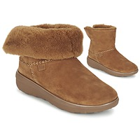 Chaussures Femme Boots FitFlop SUPERCUSH MUKLOAFF SHORTY Noisette