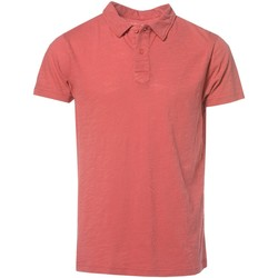 Vêtements Homme Polos manches courtes Deeluxe POLO SLOW rouge