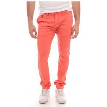 Vêtements Homme Pantalons 5 poches Ritchie PANTALON CHINO COLSH Rouge clair