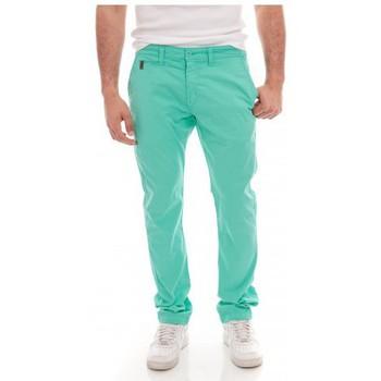 Vêtements Homme Pantalons 5 poches Ritchie PANTALON CHINO COLSH Vert
