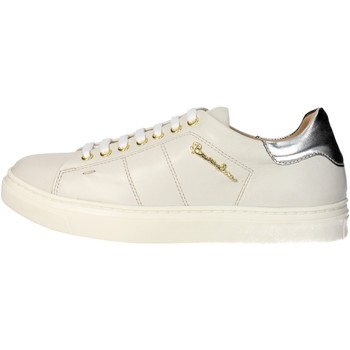 Chaussures Femme Baskets basses Braccialini B7 Sneakers Femme Beige/Blanc Beige/Blanc