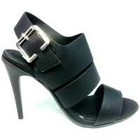 Chaussures Femme Sandales et Nu-pieds Cassis Côte D'azur Sandales Talons Hauts Beltaine Noir Noir