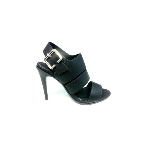 Cassis Côte D'azur Sandales Talons Hauts Beltaine Noir Noir - Chaussures Sandale Femme