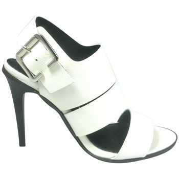 Chaussures Femme Sandales et Nu-pieds Cassis Côte D'azur Sandales Talons Hauts Beltaine Blanc Blanc