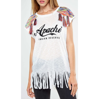 T-shirts manches courtes American College Top  Sunbay W Blanc Femme