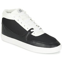 Chaussures Homme Baskets montantes Sixth June NATION WIRE Noir / Blanc