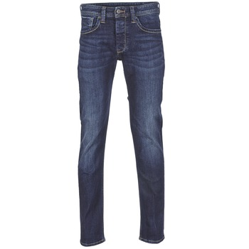 Vêtements Homme Jeans droit Pepe jeans CASH Bleu foncé