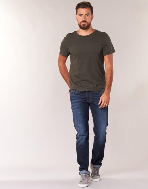 Vêtements Homme Jeans droit Pepe jeans CASH Z45 Bleu foncé