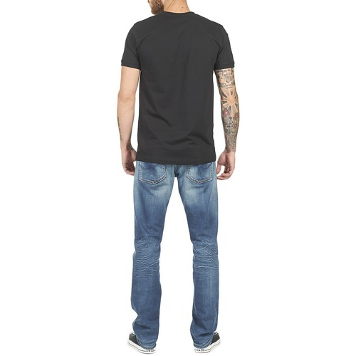 Charing shirts Manches Pepe Homme Jeans T Noir Courtes kTiPXZuO