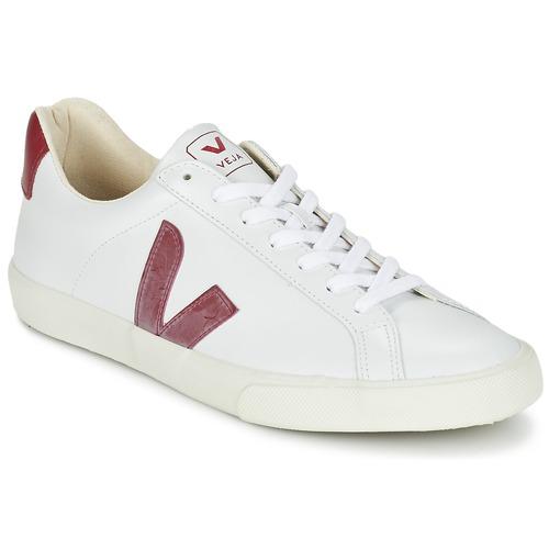 Baskets mode Veja ESPLAR Blanc / Rouge 350x350