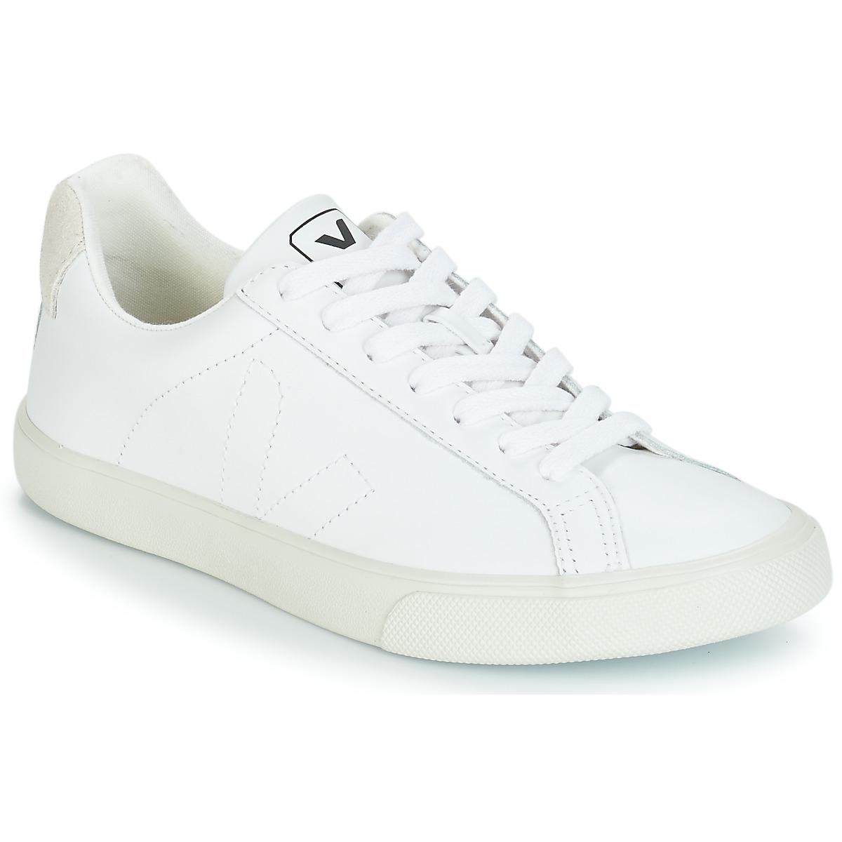 veja esplar lt blanc livraison gratuite avec chaussures baskets basses 84 10. Black Bedroom Furniture Sets. Home Design Ideas