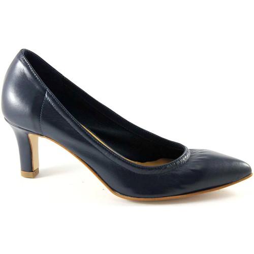 Chaussures Femme Escarpins Donna Più MAN IP FEMME M52251blu étirement dcollet femme unlined Blu