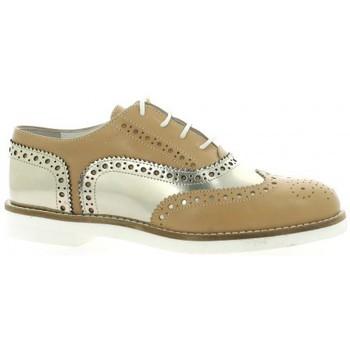 Chaussures Femme Derbies Pao Derby cuir Camel