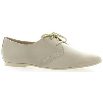 Chaussures Femme Derbies Pao Derby cuir vernis Poudré