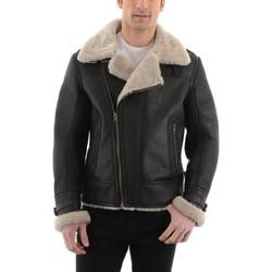 Vestes en cuir / synthétiques Giorgio Bradley Noir