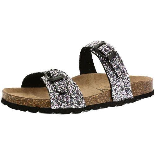 Chaussures Femme Mules La Maison De L'espadrille 3515 gris