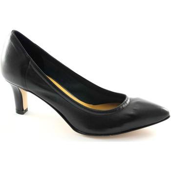 Chaussures Femme Escarpins Donna Più PI FEMME HOMME M52251 dcollet stretch noir femme unlined Nero