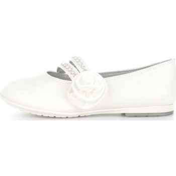 Chaussures Fille Ballerines / babies Asso 45051 Ballerines et Mocassins Fille White White