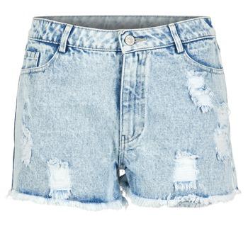 Shorts & Bermudas Yurban EVANUXE Bleu clair 350x350