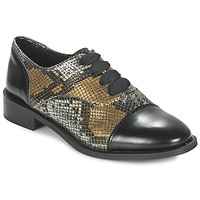 Chaussures Femme Derbies Lollipops YTON DERBY Noir / Bronze