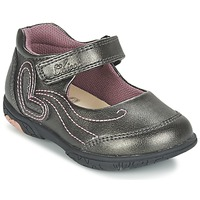 Chaussures Fille Ballerines / babies Chicco CINDRA Gris
