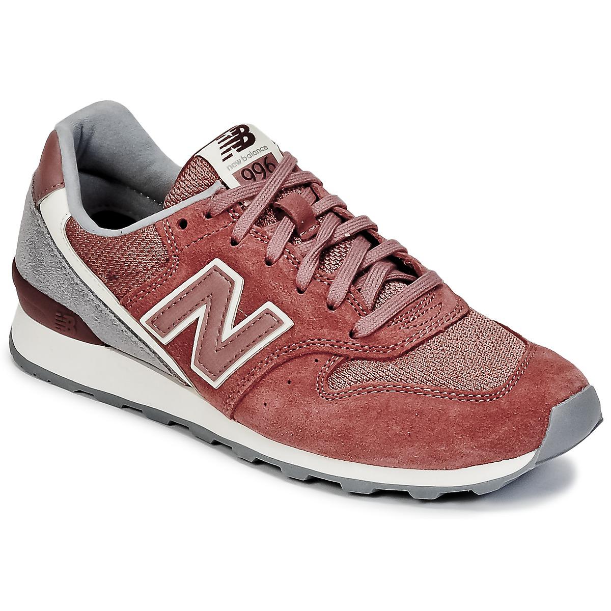 New Balance WR996 Rouge