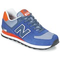 Chaussures Baskets basses New Balance ML574 Marine / Orange