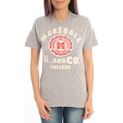 Vêtements Femme T-shirts manches courtes Sweet Company T-shirt Marshall Original M and Co 2346 Gris Gris