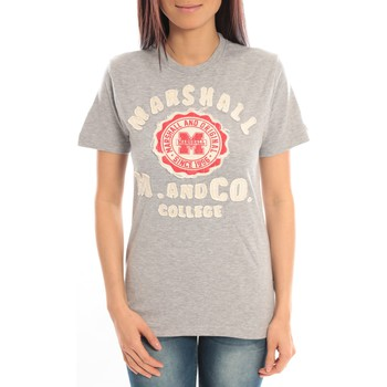 T-shirts manches courtes Sweet Company T-shirt Marshall Original M and Co 2346 Gris