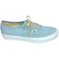 Chaussures Femme Baskets basses Vans Authentic Slim Bleu XG6ATX Bleu