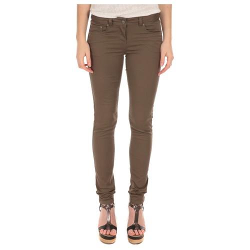 Vêtements Femme Jeans slim LPB Woman Les Petites Bombes Pantalon Slim Strech Kaki S161201 Vert