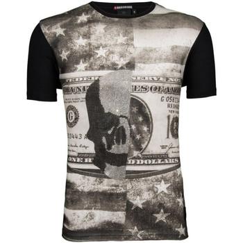 Vêtements Homme T-shirts manches courtes Redskins Tee-shirt  Ranner Shuman (Noir) Noir