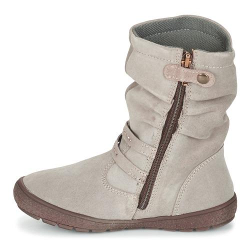 Chaussures Primigi Fille e Ville Calisha Taupe Bottes tdCxQshr