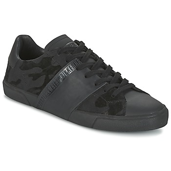 Chaussures Homme Baskets basses Bikkembergs RUBBER CAMOUFLAGE Noir