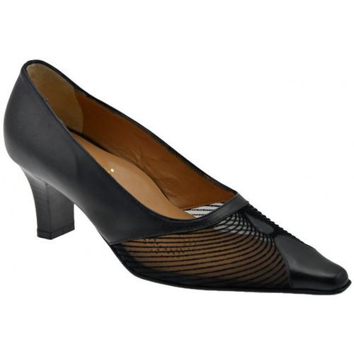 Chaussures Femme Escarpins Bettina 8821 chaussure de Cour transparent est T60 Escarpins