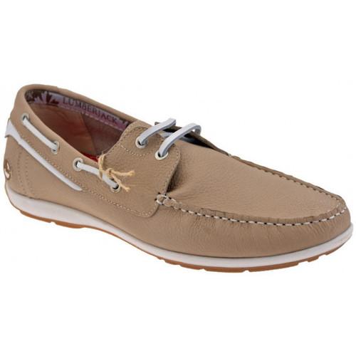 Chaussures Homme Mocassins Lumberjack Étape Mocassins Beige