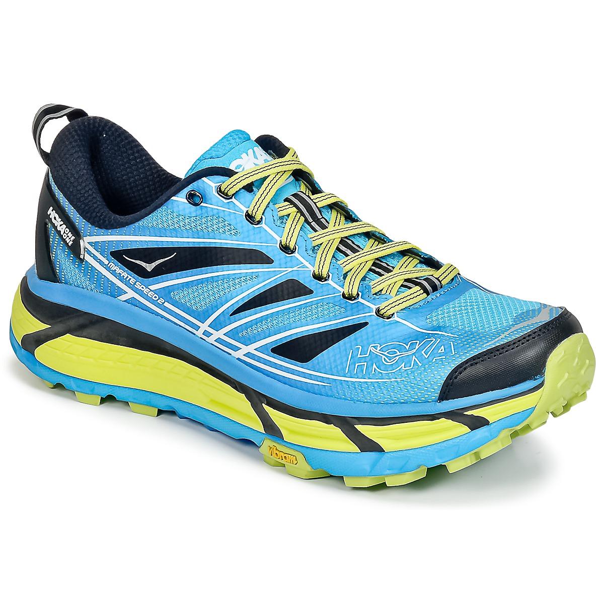 Chaussures-de-running Hoka one one MAFATE SPEED 2 Bleu