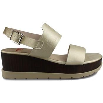 Chaussures Femme Sandales et Nu-pieds Mikaela WASH BEIGE