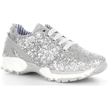 Chaussures Enfant Baskets basses Asso 45700 Basket Fille Silver Silver