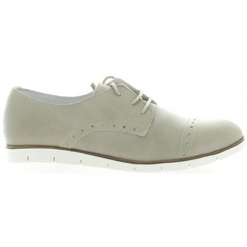 Chaussures Femme Derbies Latina Derby cuir Taupe