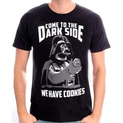 Vêtements Homme T-shirts manches courtes Cotton Division Tshirt Star Wars - We have cookies Noir