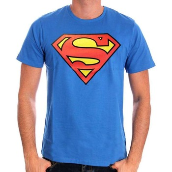 Vêtements Homme T-shirts manches courtes Cotton Division Tshirt Superman DC Comics - Logo Classic Bleu