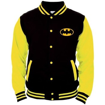 Vêtements Homme Blousons Cotton Division Teddy Batman DC Comics - Gotham City Noir